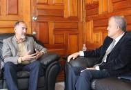 Los secretarios sentaron las bases para coordinar proyectos y acciones referentes a las vialidades que conectan a los dos Estados