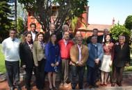 En la reunión estuvieron presentes los miembros de la asociación de ex presidentes del PRI y ahora organismo consultivo del Comité Directivo Estatal
