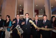 """Silvano Aureoles manifestó que la inauguración del Teatro Juárez es """"un sueño cristalizado, un anhelo largamente acariciado por todos los zitacuarenses"""", esto tras 15 largos años de espera"""