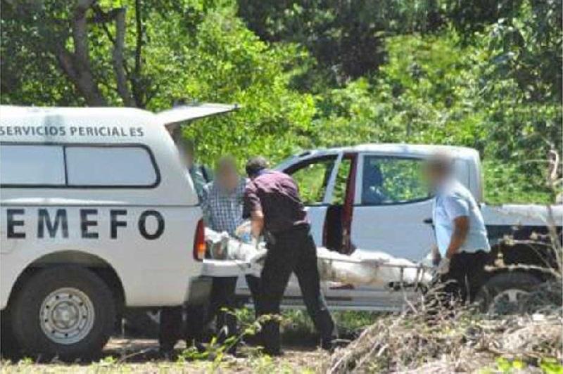 El hallazgo ocurrió la tarde del domingo en un predio de la comunidad de La Mira, luego de un operativo de la Unidad Especializada de Combate al Secuestro de la PGJE