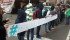 Llama la atención que ahora los manifestantes no han cerrado la Avenida Madero de Morelia (FOTO: FRANCISCO ALBERTO SOTOMAYOR)