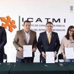 ICATMI y COPARMEX firman convenio de colaboración para iniciar cursos de capacitación pertinentes a las demandas del mercado laboral