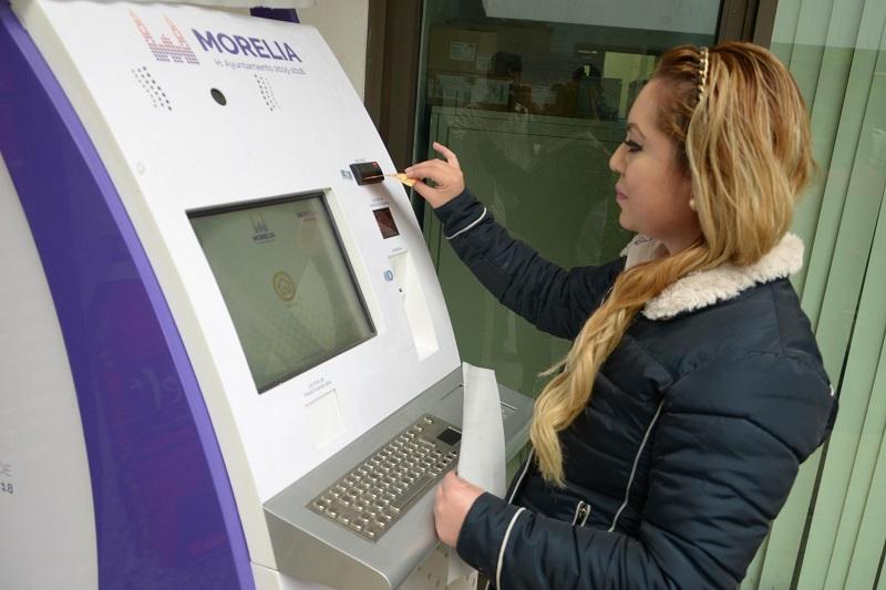A partir de este martes 23 la ciudadanía podrá pagar el predial en los kioscos ubicados en Espacio las Américas y Centro Comercial Altozano