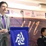 Martínez Alcázar hizo hincapié en que Michoacán se encuentra en una zona privilegiada en relación con otras regiones de México, esto debido a que tiene vías de comunicación y conectividad con puntos estratégicos de comercio