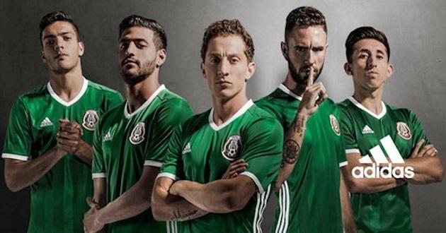 Regresa la playera verde al Tri - A Tiempo NoticiasA Tiempo Noticias a60f2fd23aa41