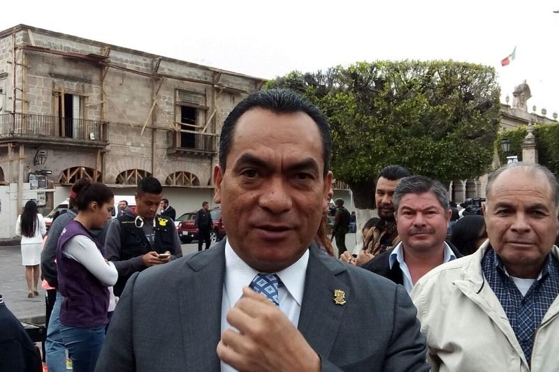 López Solís destacó el operativo de seguridad que se ha implementado en el estado con la intención de garantizar la seguridad de turistas locales, nacionales y extranjeros (FOTO: MARIO REBO)