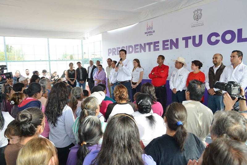 Presidente en Tu Colonia visitará la Colonia Leandro Valle para atender las necesidades inmediatas de los vecinos; estarán presentes funcionarios y regidores del Ayuntamiento de Morelia
