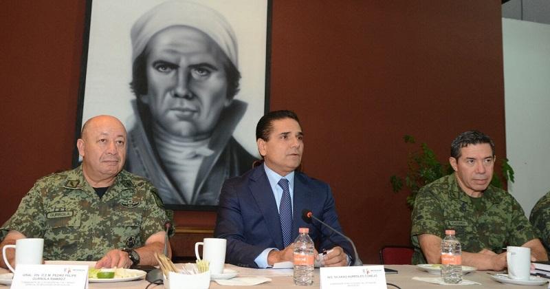 El Grupo de Coordinación Michoacán revisó los avances en los acuerdos establecido con el Gabinete de Seguridad Federal