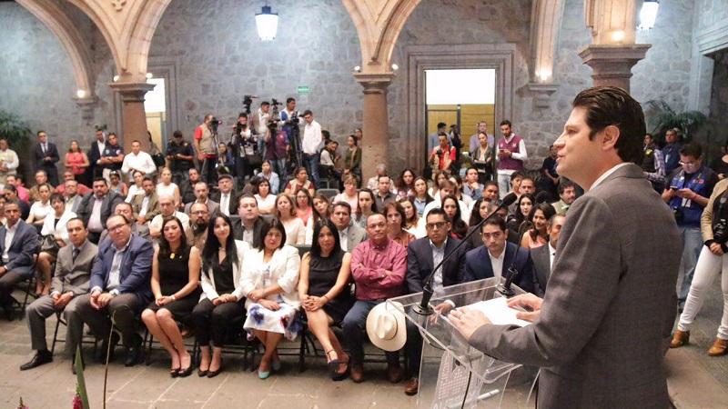 Martínez Alcázar encabezó la Integración de la Junta Cívica Conmemorativa del 475 Aniversario de la Fundación de la ciudad