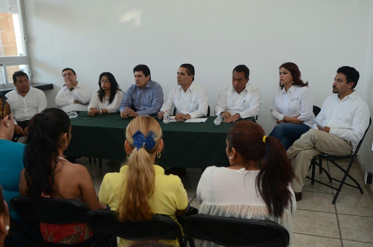 """Aureoles Conejo explicó que al inicio de su administración el gobierno federal informó que el recurso etiquetado para la construcción de """"Ciudad Mujer"""" se perdería"""