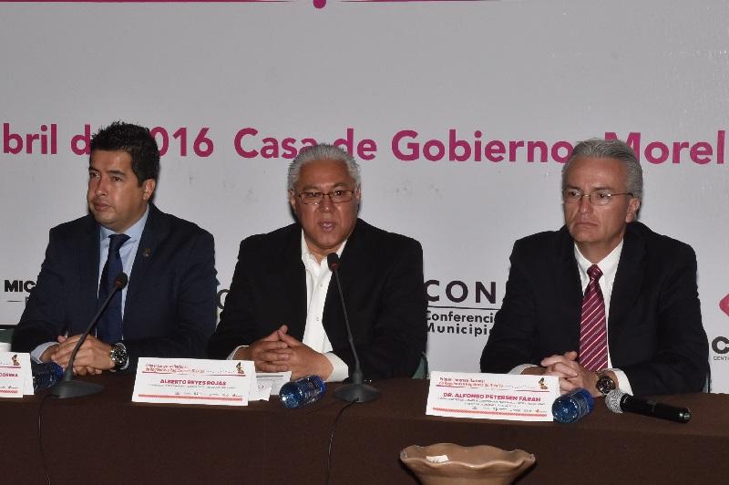 Uno de los objetivos, construir acuerdos a favor del fortalecimiento municipal