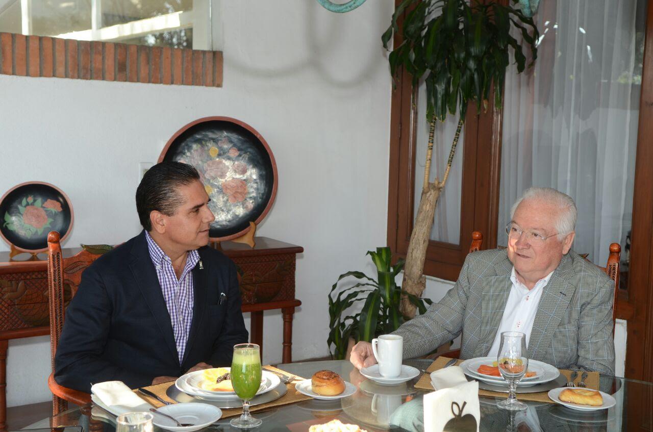 De esta manera, Aureoles Conejo refrenda su apertura al diálogo y disposición de escuchar las opiniones referentes al estado de los ex gobernadores