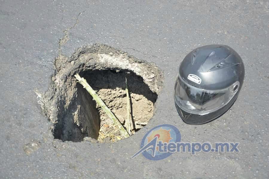Por los trabajos de reparación en la zona, se recomienda a automovilistas, trabajadores del volante y usuarios del transporte público, tomar las debidas precauciones (FOTO: ABEL IBIZA)