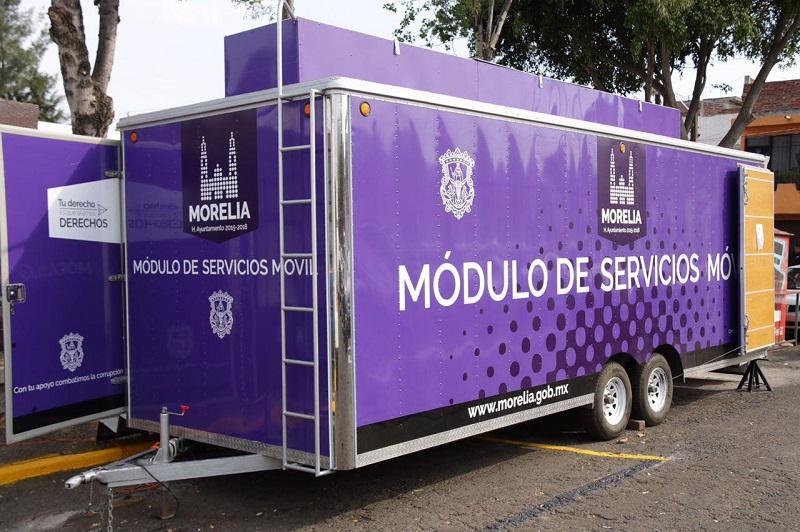 Unidad Móvil De Servicios Llega A La Colonia Santiaguito A
