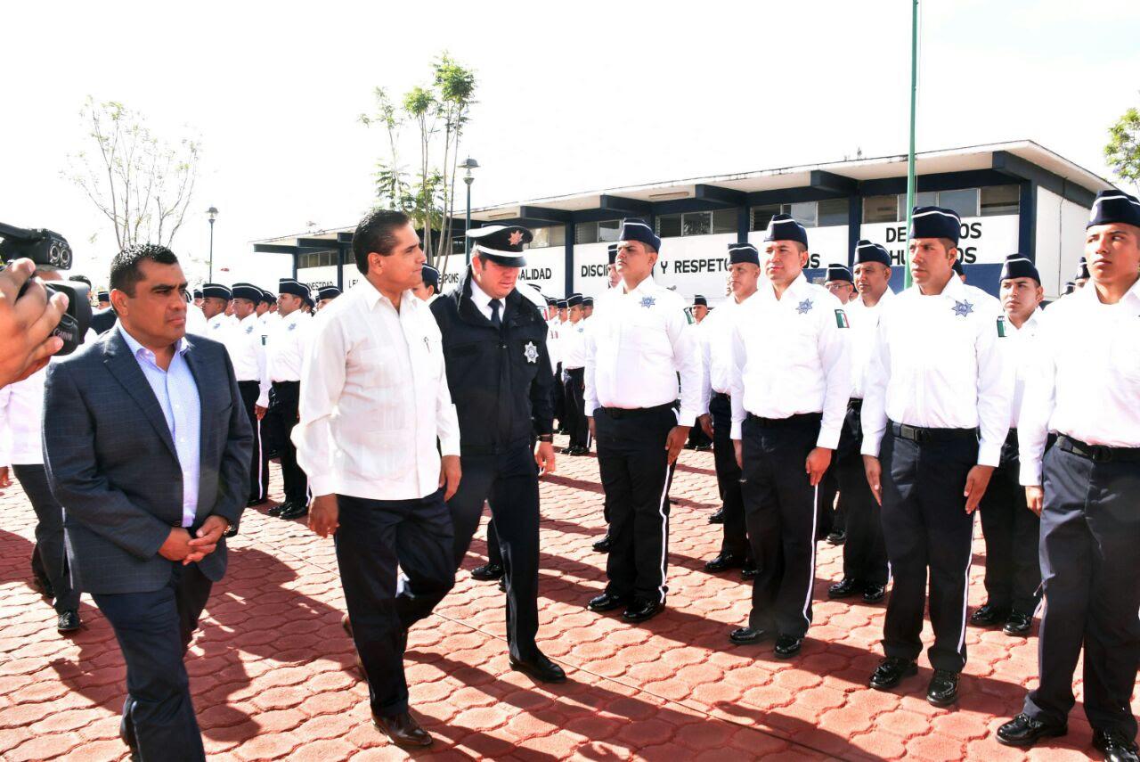 Aureoles Conejo expresó que esta acción se suma a las medidas para restablecer la seguridad plena del estado