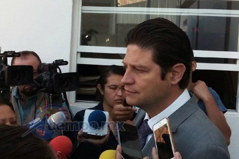 Martínez Alcázar señaló que antes de entrar en funciones a su gobierno se le pedía que tomara medidas por la seguridad y contra la impunidad, pero ahora que se pretenden implementar hay quienes se oponen (FOTO: MARIO REBO)