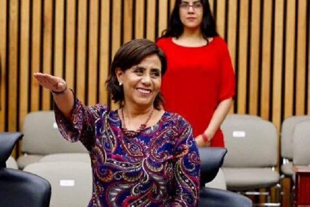 La función principal que desempeñará la Senadora por Michoacán es vigilar y coadyuvar en las funciones del INE en la organización de las elecciones