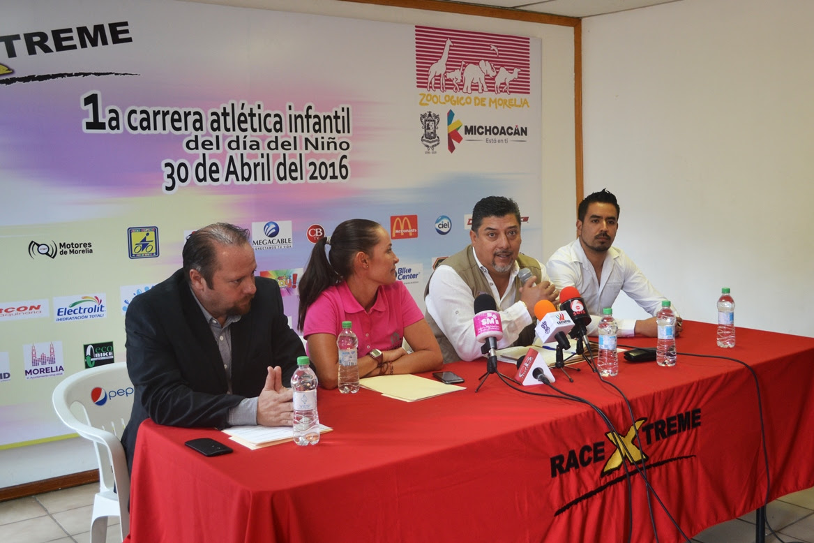 El director general del Zoológico de Morelia, Arturo Guzmán Abrego, destacó que esta carrera viene a enriquecer las actividades que de manera cotidiana se realizan para consolidar al recinto faunístico