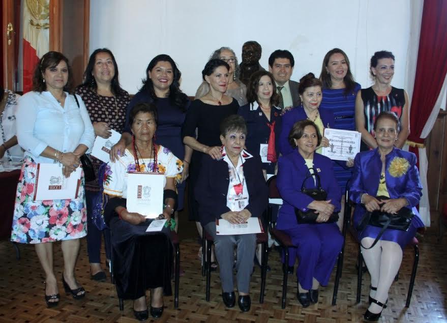 Socorro Quintana presidenta de la Comisión de Igualdad de Género, señaló en esta la primera emisión de dicha condecoración se alcanzó el objetivo de reconocer a las mujeres o instituciones que trabajen a favor de las mujeres