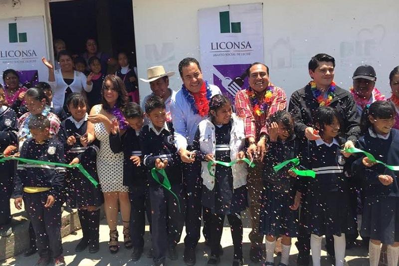 Anualmente el gobierno federal invierte 12.3 mdp en el Programa de Abasto Social Liconsa en Zitácuaro