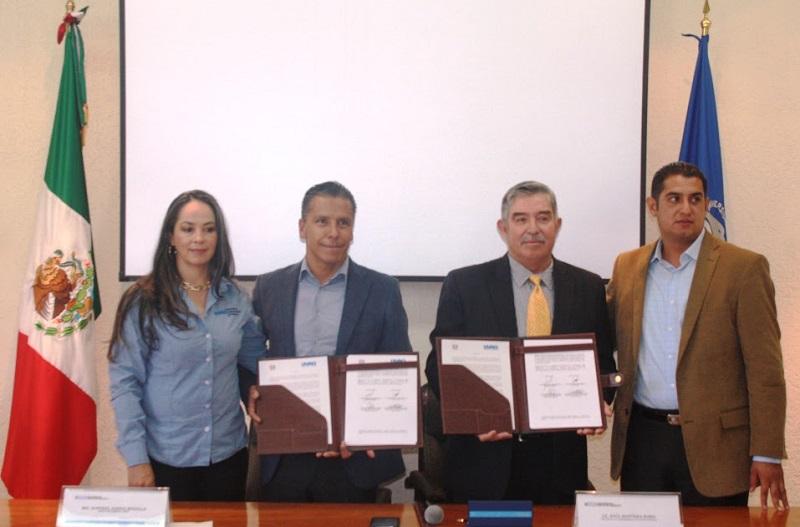 El objetivo del acuerdo de colaboración es desarrollar conjuntamente entre las dos instituciones, eventos de índole educativo, además de fomentar el deporte y la cultura física