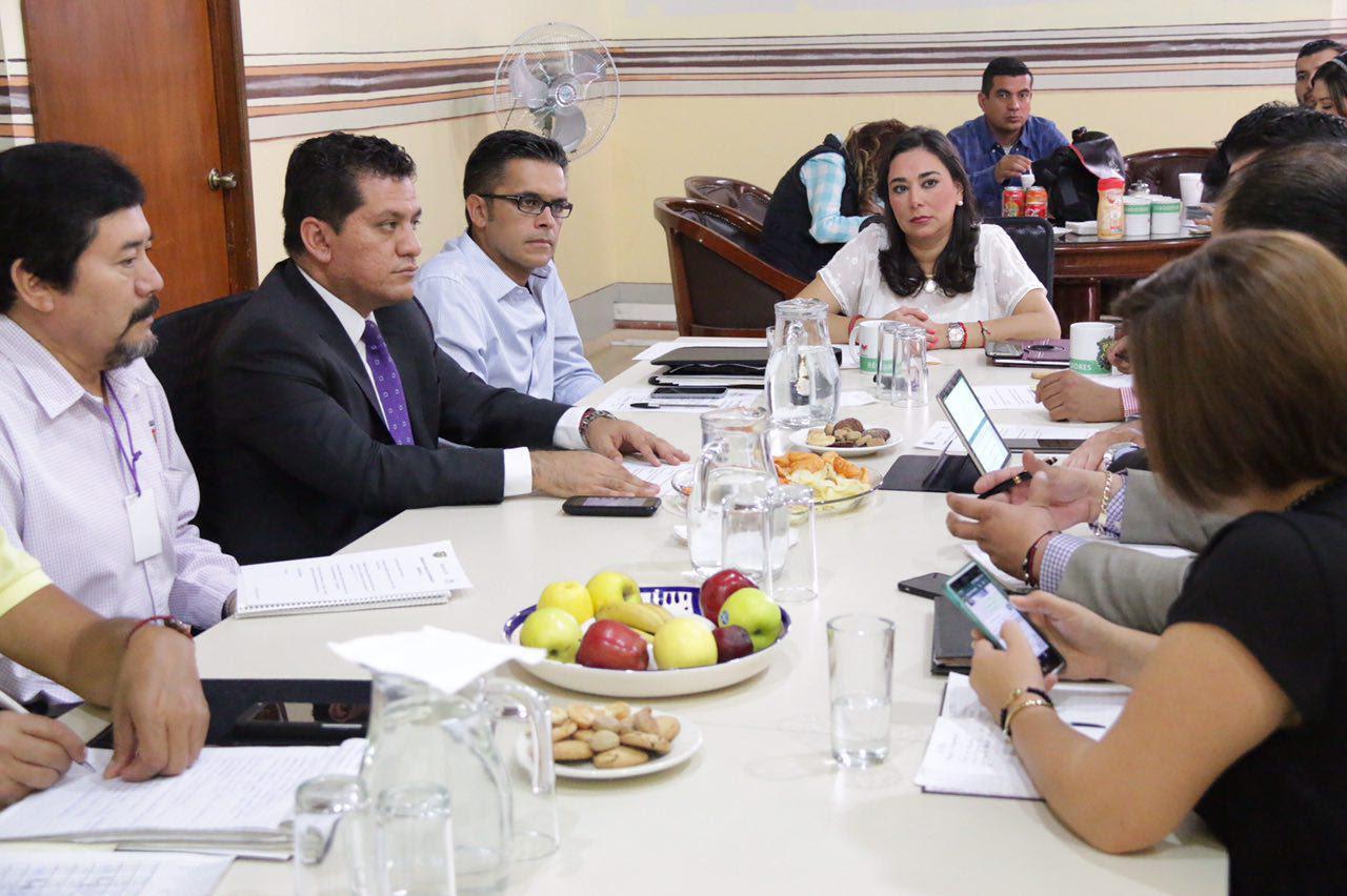 En reunión celebrada este miércoles en la Sala de Regidores, la regidora, Kathia Ortiz resaltó que con dicha acción los beneficiados serán los habitantes de la capital del estado