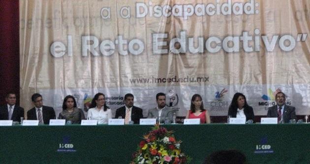 Durante tres días se expondrá el tema de la respuesta social ante la discapacidad y el reto educativo