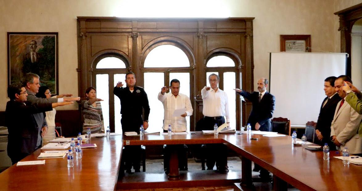 Fueron designados Víctor Hugo Estrada, como subdirector Operativo; Elizabeth Mejía Ruíz, en el cargo de coordinadora Académica; y Dante Obed Pureco Ayala, es el nuevo  enlace Administrativo de la dependencia
