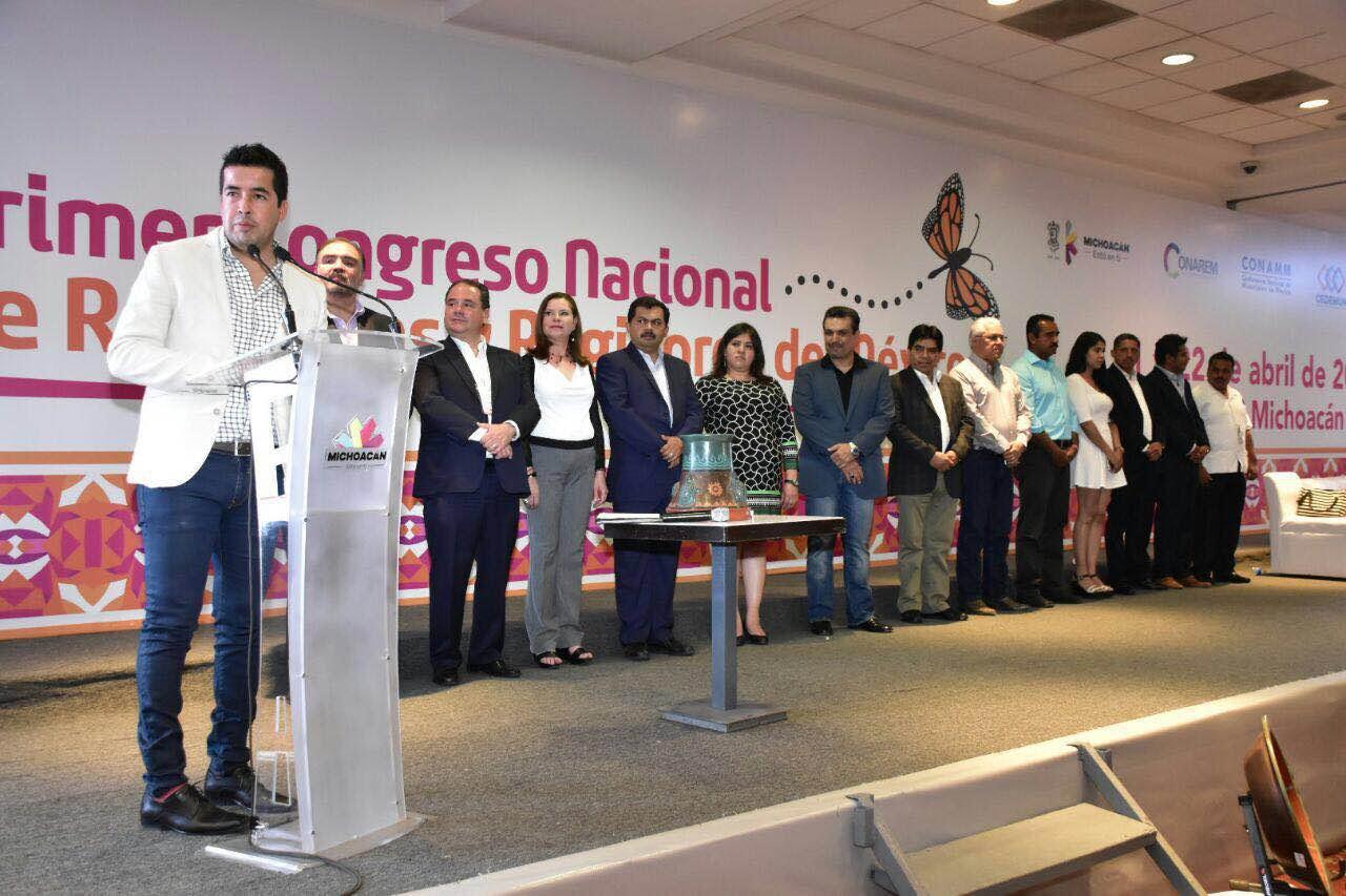 Más de mil 300 funcionarios municipales de las 32 entidades federativas del país atendieron el llamado de la CONAREM.