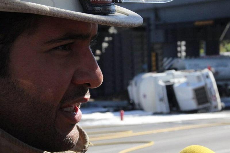 Eduardo Ramírez Canals pidió a la población extremar precauciones en la quema de pastizales y cualquier otra actividad que pudiera derivar en un posible incendio