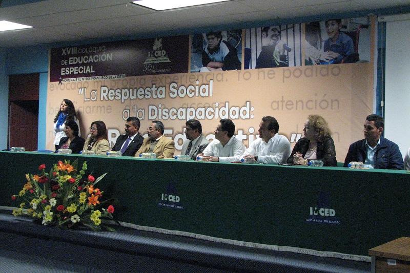 Más de mil 500 personas discutieron durante tres días el tema de La respuesta social a la discapacidad: el reto educativo
