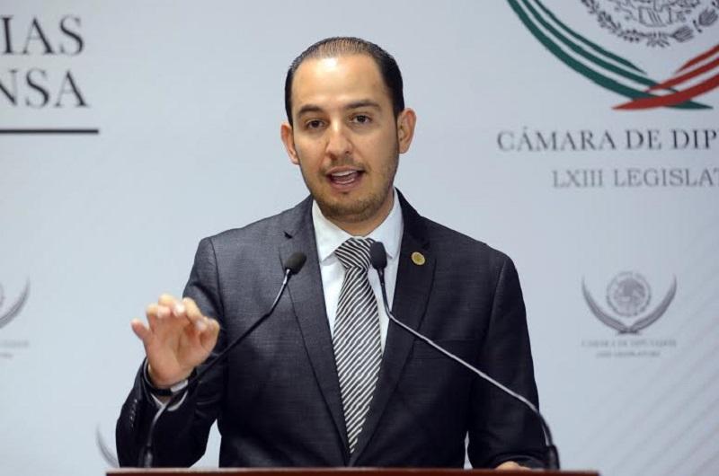 En la Cámara de Diputados estamos dialogando, para aprobar modificaciones a la Ley por la que se fortalecerá la Secretaría de la Función Pública y la Ley General de Fiscalización y Rendición de Cuentas: Marko Cortés