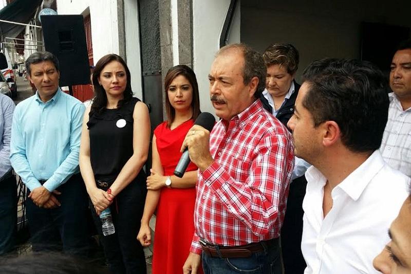 En su discurso destacó que es el tiempo de los michoacanos, reiteró que los procesos electorales ya pasaron y que es momento de que las fuerzas políticas trabajen en beneficio de los ciudadanos