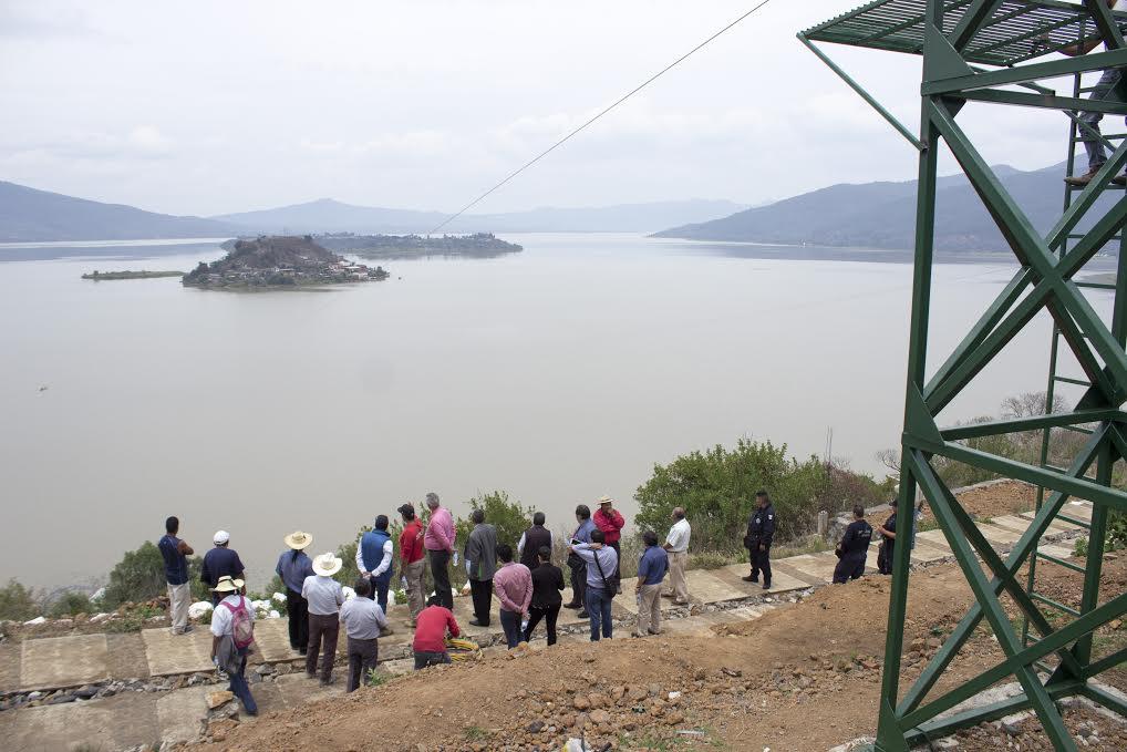 Para la construcción de la tirolesa de Tecuena-Janitzio se destinaron un millón 600 mil pesos