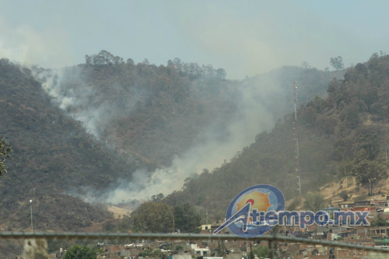 Persisten los daños al medio ambiente en la ciudad de Morelia (FOTO: MARIO REBO)