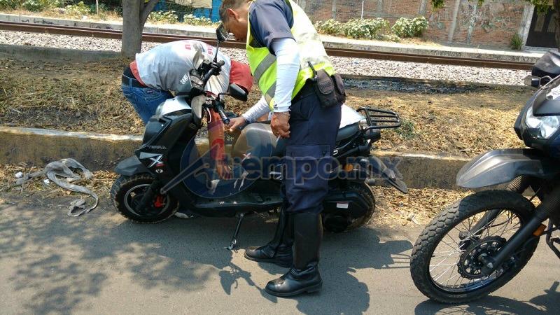 Agentes policíacos aseguraron 14 motocicletas por diversas irregularidades en la documentación; también impusieron infracciones por no usar casco, guantes y lentes como prevén las normas de tránsito (FOTO: FRANCISCO ALBERTO SOTOMAYOR)