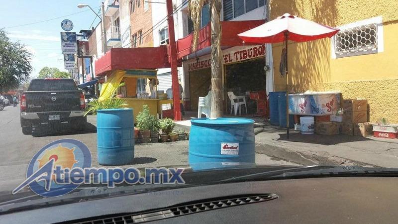 Los problemas viales de la capital michoacana se complican aún más por las negociaciones que invaden las calles