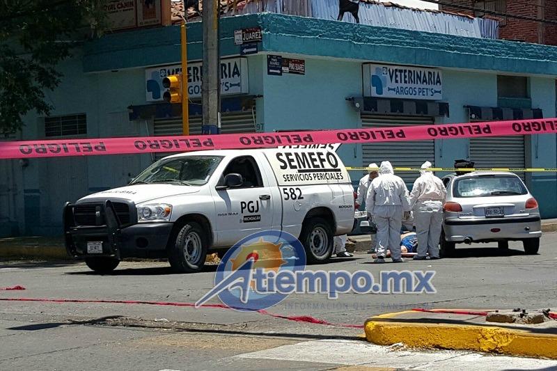 Sigue imparable la ola de violencia en Zamora; esta semana se registra gran cantidad de homicidios (FOTO: FRANCISCO ALBERTO SOTOMAYOR)