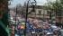 Algunos de los participantes en las marchas de este día se comportan de manera agresiva (FOTOS: MARIO REBO)