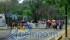 La movilización causó severas afectaciones viales a su paso, y durante el mitin frente a Palacio de Gobierno, sin embargo, no se reportaron mayores novedades
