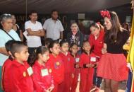 Durante la puesta en marcha de dicha estrategia, el coordinador delegacional de salud pública, Mauricio Atienzo Reyes, explicó que el ChiquitIMSS tiene como objetivo inculcar a los niños y niñas menores de diez años, las medidas necesarias para prevenir enfermedades