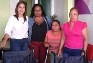 La entrega se realizó en la Casa de Enlace, ubicada en Rubén Romero número 276, en la ciudad de Tacámbaro