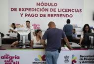La SFA agradece la disposición de las y los michoacanos que acudieron a la Expo Fiesta Michoacán a realizar algún trámite de expedición, renovación o reposición de su licencia de manejo, así como de pago del refrendo 2016