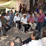 Silva Tejeda invitó a los presentes a trabajar en equipo y no pensar, en estos momentos, en proyectos personales