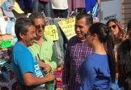 La comisaria Isabel Maldonado reiteró que este operativo lo que busca es platicar con los vendedores ambulantes e invitarlos a no violar las normativas que el Ayuntamiento establece