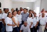 En las instalaciones de la Casa Ejidal, el mandatario estatal pidió a los integrantes del Comité Ciudadano no bajar la guardia del trabajo que realizan desde el pasado 23 de abril