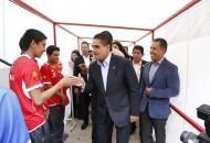Los resultados obtenidos por los atletas serán en beneficio del estado y el país, destaca Silvano Aureoles