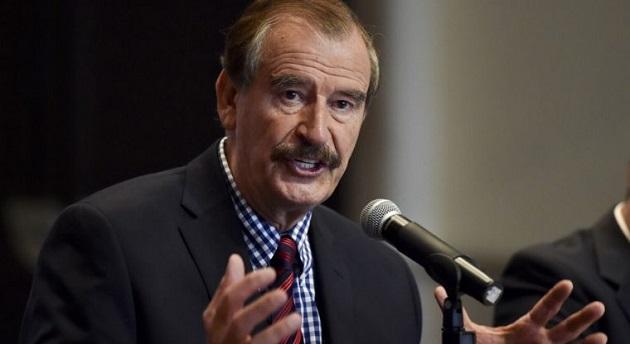 """Para Vicente Fox, Calderón se equivoca al """"meter"""" a su esposa, Margarita Zavala, en la contienda por la sucesión presidencial de 2018"""