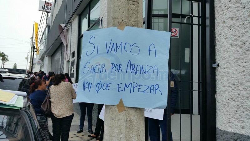 Hace unas horas se conoció que por decisión del gobierno federal fueron despedidos a partir de este 1 de julio 1 mil 200 trabajadores del sector salud en Michoacán (FOTO: FRANCISCO ALBERTO SOTOMAYOR)