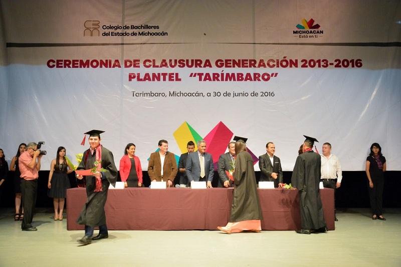 Bustos Aguilar resaltó los resultados obtenidos por las y los profesores del Cobaem en la evaluación docente